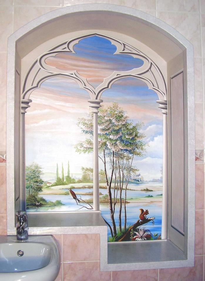 La galleria di silvia decorazioni - Quadri con finestre ...